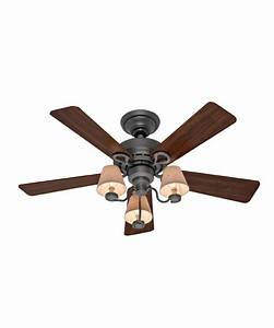 Hunter fan alcove ii inch ceiling with light
