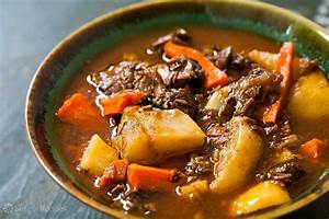 Lamb Shank Stew with Root Vegetables Recipe