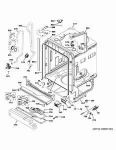 Ge Gdt655sgj2bb Dishwasher Parts