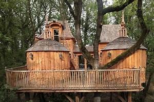 Cabane De Luxe : cabane dans les arbres d couvrez les domaines campings ~ Zukunftsfamilie.com Idées de Décoration