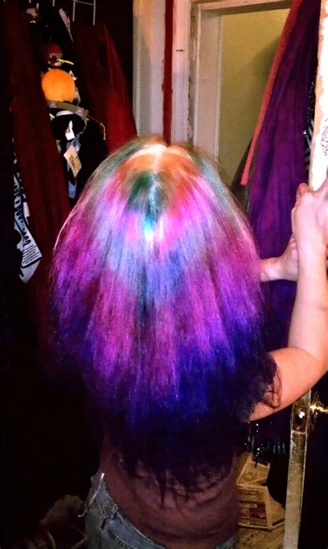 Tye Dye My Hair Pinterest