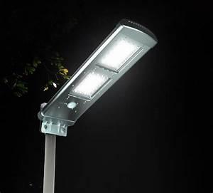 Detecteur De Presence Pour Eclairage : lampadaire solaire 2000lm avec detecteur de pr sence 2e ~ Dailycaller-alerts.com Idées de Décoration
