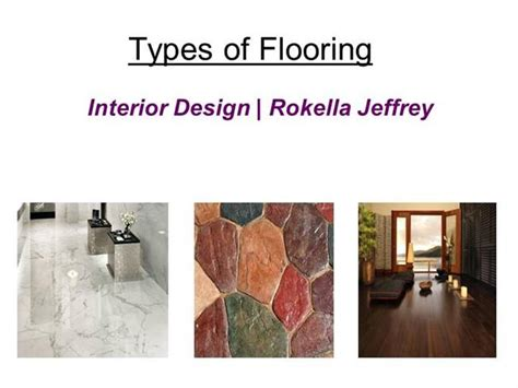 types of flooring materials ppt different types of flooring for house building rokella