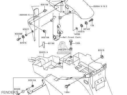 kawasaki zx600g1 zx6r 1998 europe uk fr nl ar fg gr it nr sd sp parts list partsmanual