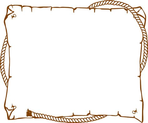 Rope Border Clipart Border Rope Western Clip At Clker Vector Clip
