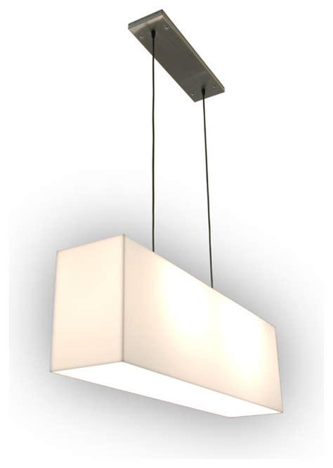 gus modern white acrylic hanging l modern pendant