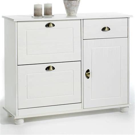 meubles de cuisine d occasion pas cher meuble à chaussures abattant rangement pin massif lasuré