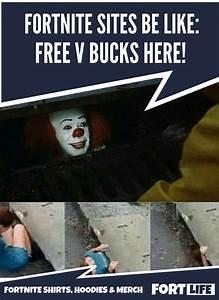 Fortnite Memes V Bucks Scam Fortnite Shirts Memes