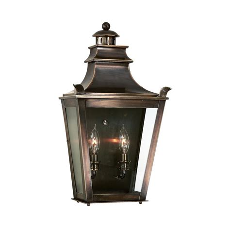 troy lighting dorchester 2 light english bronze outdoor