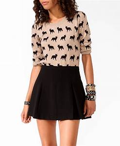 Ditsy Fox Sweater | FOREVER21 - 2021840254. Just bought ...