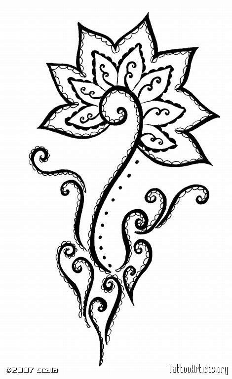 Simple Henna Drawing at GetDrawings.com   Free for personal use Simple Henna Drawing of your choice