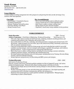 Sample recruiter resume template homejobplacementsorg for Free resumes for recruiters