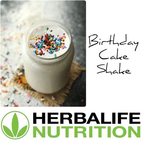 Amazon com herbalife formula 1 nutritional shake mix mint. Herbalife Shake Recipes Birthday Cake   Besto Blog