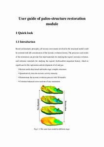 User Guide Of Paleo