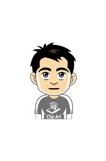 Boy Cartoon Avatar Sad Clipart Clip Cliparts