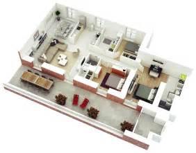 3 bedroom house blueprints 25 more 3 bedroom 3d floor plans architecture design