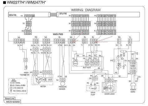 Lg Aircon Wiring Diagram by Lg Washer Wiring Diagram 24h Schemes