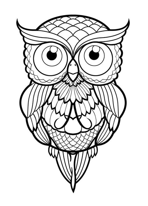 The 25+ best Simple owl drawing ideas on Pinterest | Owl drawing images, Simple owl tattoo and