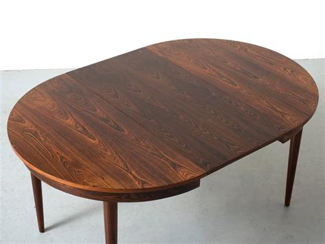 dining tables with leaf extensions hans rosewood dining table with extension leaf 9256