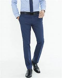Navy Blue Dress Pants Men Si Pant