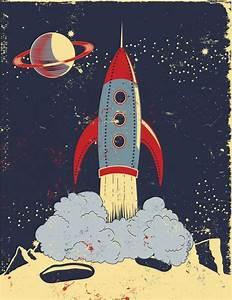 Best 25+ Retro rocket ideas on Pinterest | Vintage space ...