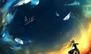 Air TV wallpaper - Other & Anime Background Wallpapers on ...