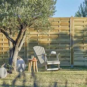 Leroy Merlin Brise Vue : cloture jardin en beton 4 grillage canisse panneau ~ Dailycaller-alerts.com Idées de Décoration