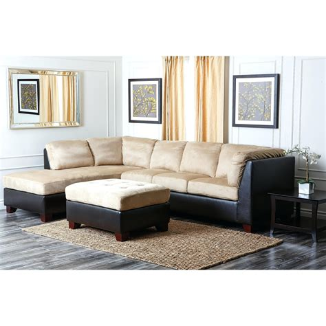 brown sectional with ottoman 12 ideas of abbyson living charlotte dark brown sectional