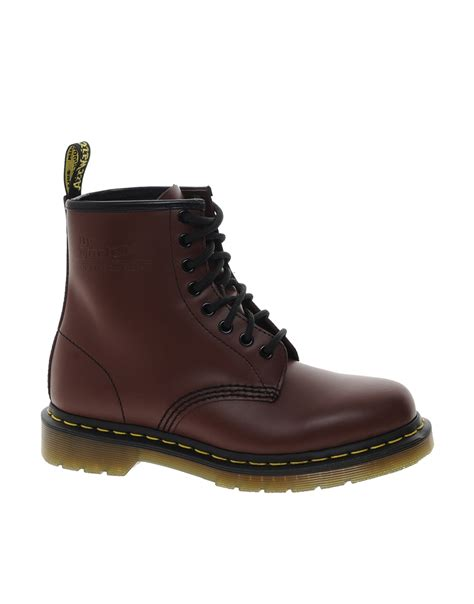 dr martens modern classics cherry smooth 1460 8 eye