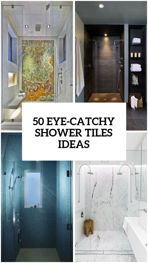 Bathroom Shower Tile Design Ideas by 41 Cool And Eye Catchy Bathroom Shower Tile Ideas Digsdigs