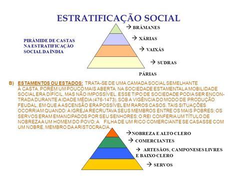 si e social de estratificação classes e mobilidade social ppt