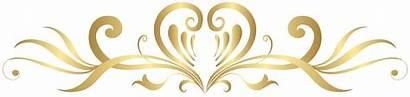 Gold Heart Clip Decoration Clipart Decorative Album