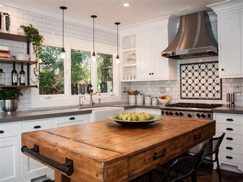 kitchen island block photo page hgtv