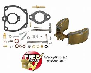 Carburetor Kit  U0026 Float Ih Farmall 656 706 756 766 Tractor