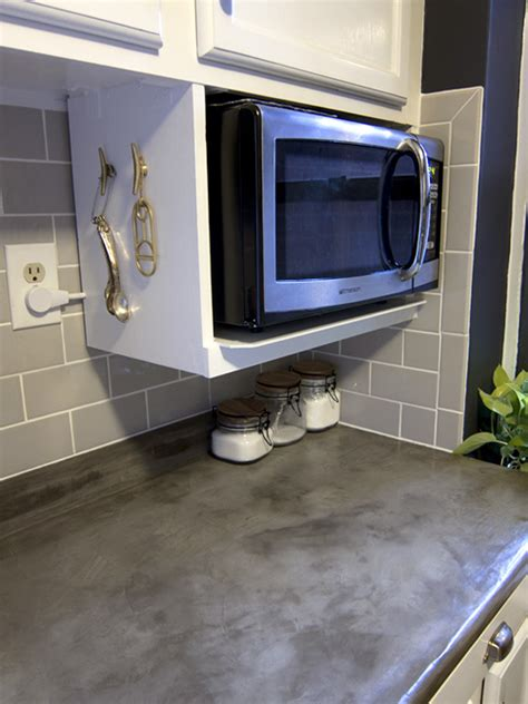 how to hang a microwave under a cabinet major diy s in the kitchen part 3 additional shelving
