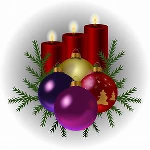 Clipart - christmas tree toys