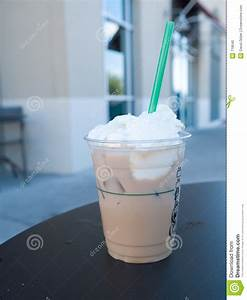 Iced Coffee With Whipped Cream Stock Photo - Image: 718640