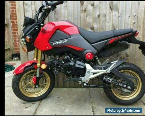2015 Honda Msx Grom For Sale In United Kingdom