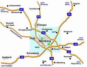Möbelhäuser Nürnberg Und Umgebung : anfahrt ber autobahnen gro raum n rnberg ~ Markanthonyermac.com Haus und Dekorationen