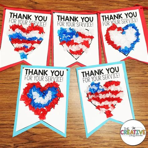 simple veterans day crafts ideas  kids adults