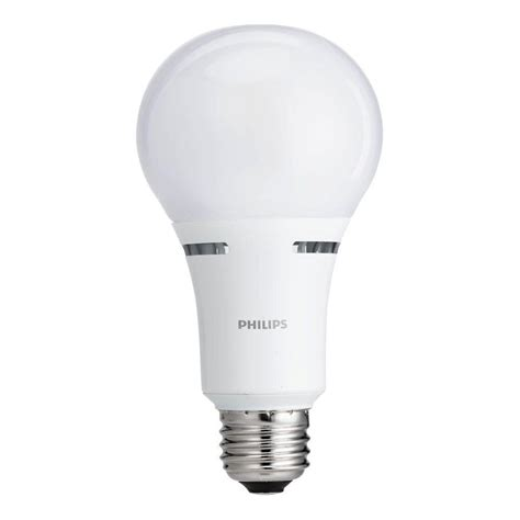 philips 100w equivalent soft white household a21 dimmable