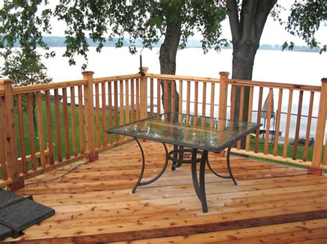 Deck Railing Pictures Ideas by Deck Railing Pictures And Ideas