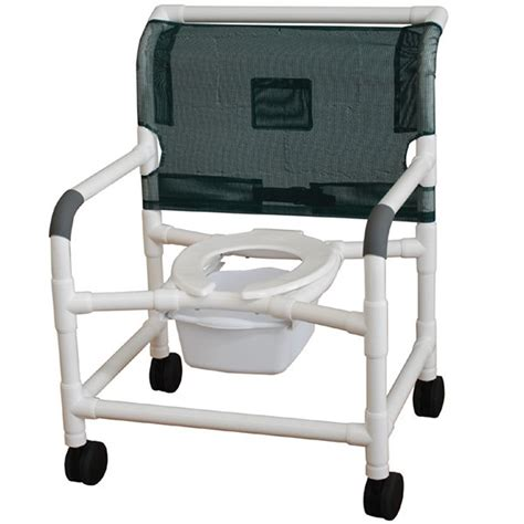 pvc shower commode chair 26 quot