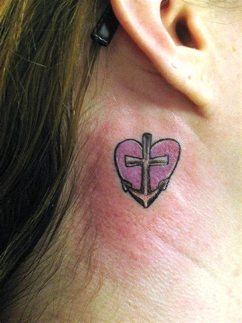 tattoo designs anchor heart tattoo