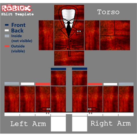 roblox suit template audrite suit roblox