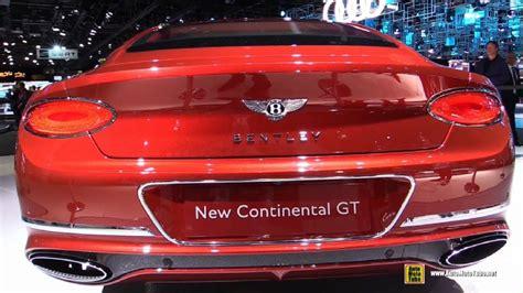 2018 Bentley Continental Gt At 2017 Frankfurt Motor Show