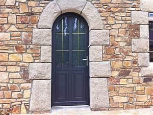 plouvara une belle renovation de porte d39entree mixte With porte d entrée plein cintre