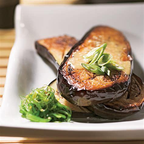 recettes cuisine japonaise aubergines à la japonaise recettes cuisine et