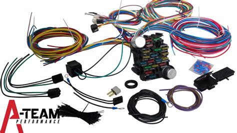65 Mustang Wiring Harnes by 65 73 Ford Mustang 21 Circuit Universal Wiring Harness