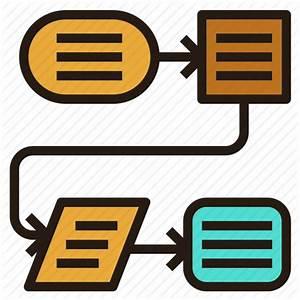 Chart  Flow  Plan  Process Icon